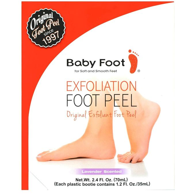 Baby Foot Lavender-Scented Exfoliant Foot Peel