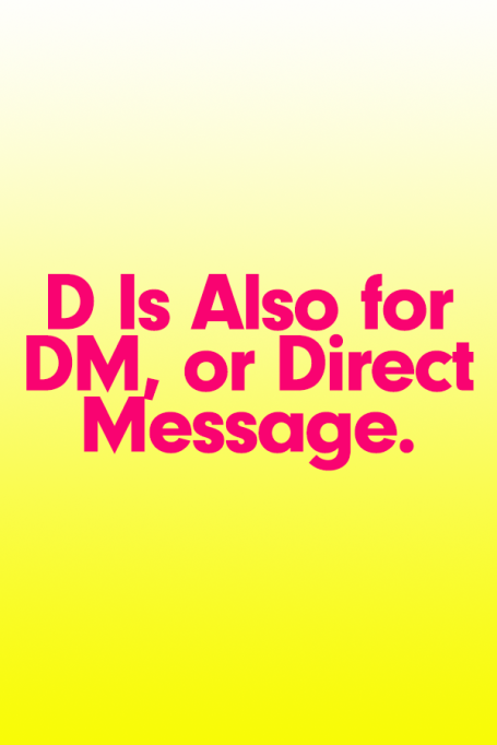 2018 A to Z Guide to Teen Slang: D Is for DM