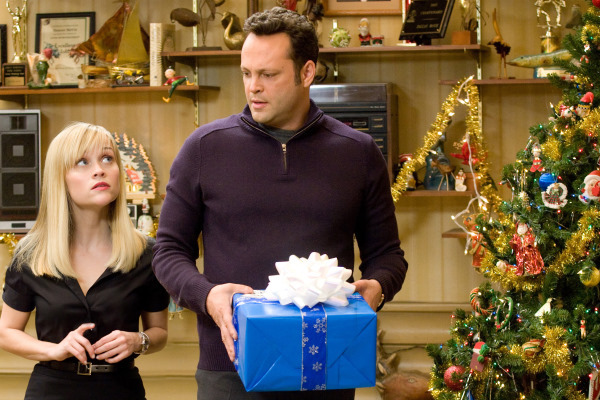 Reese Witherspoon and Vince Vaughn star in 'Four Christmases'.