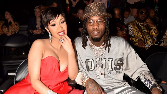 Cardi B and Offset of the