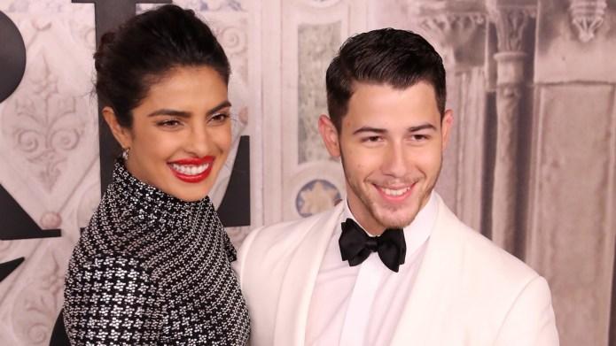 Priyanka Chopra and Nick Jonas attend