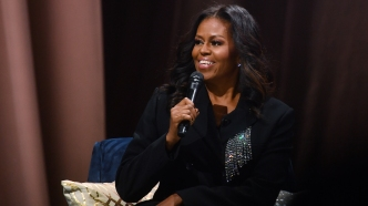 photo of Michelle Obama Becoming book