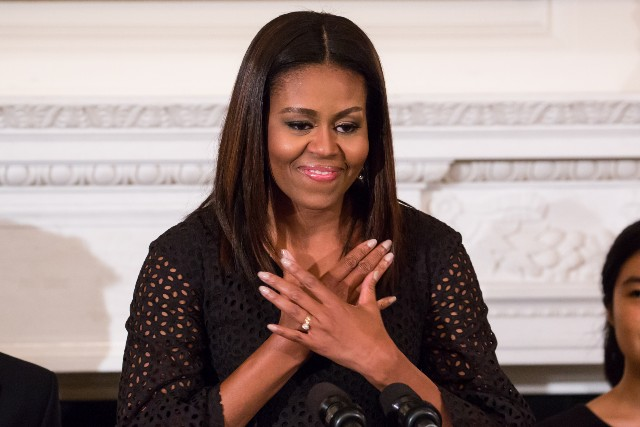 Michelle Obama at a White House event in 2015