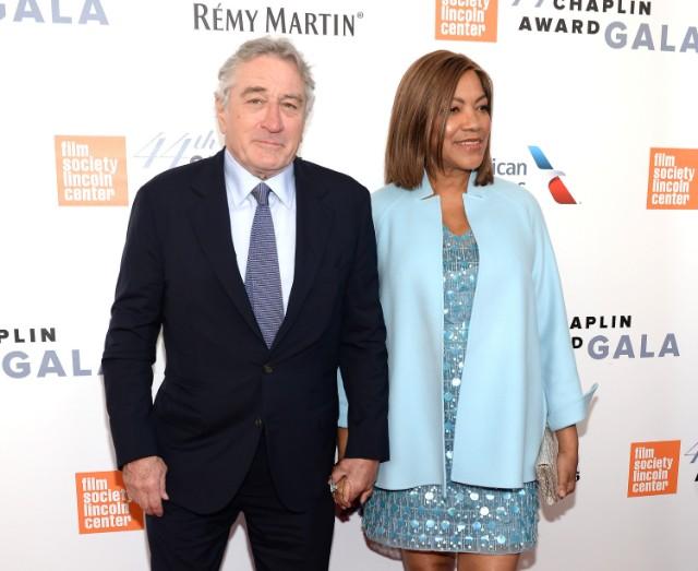 Robert De Niro and Grace Hightower attend the 44th Chaplin Award Gala at David H. Koch Theater