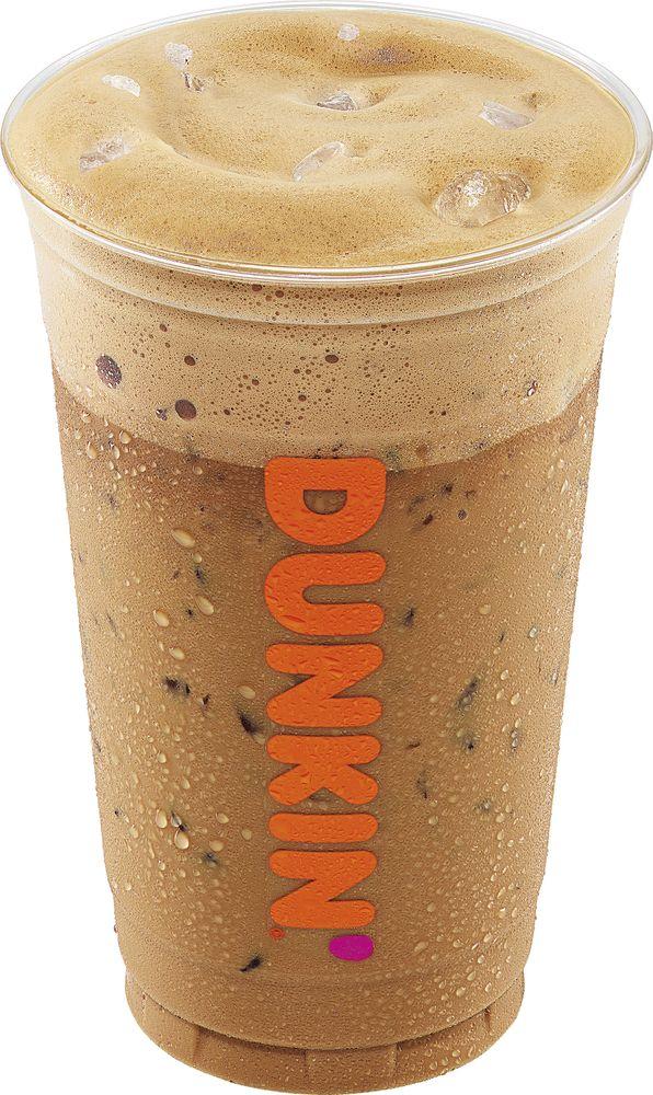 Dunkin' cappuccino