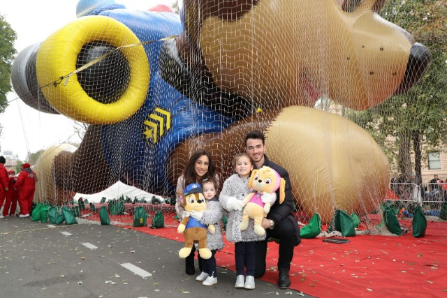 Kevin Jonas for Macy's Thanksgiving Day Parade