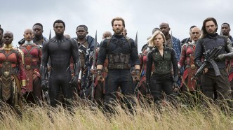 Avengers Infinity War still photo
