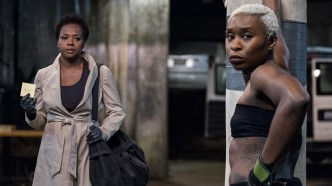 Viola Davis and Cynthia Erivo in