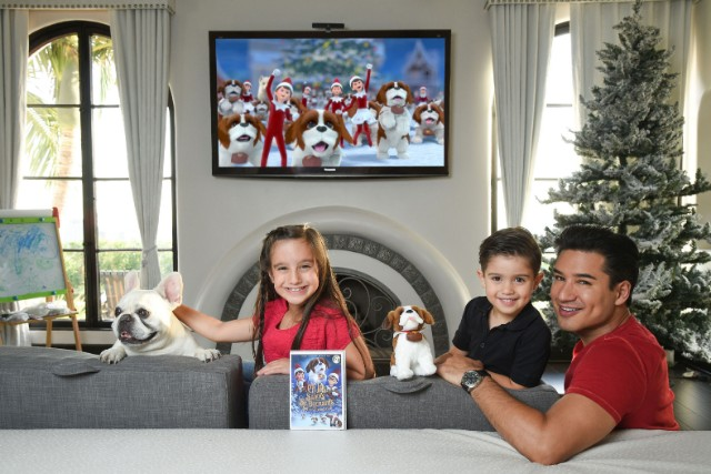 Mario Lopez for The Elf on the Shelf