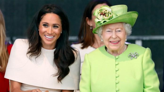 Αποτέλεσμα εικόνας για meghan markle and queen elizabeth