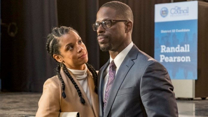 Susan Kelechi-Watson and Sterling K. Brown