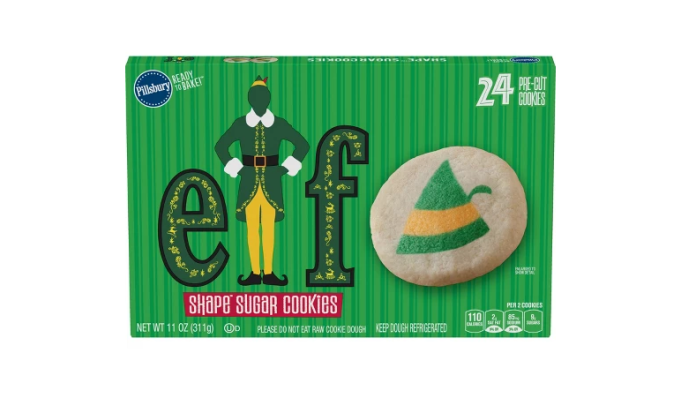 Pillsbury Ready-to-Bake Elf Sugar Cookies