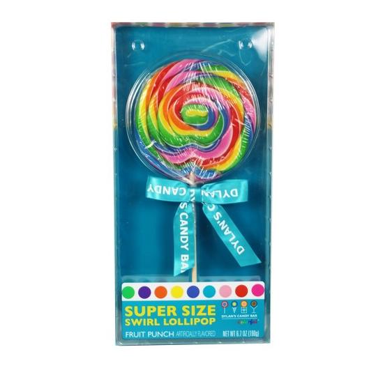 Dylan's Candy Bar super size swirl lollipop