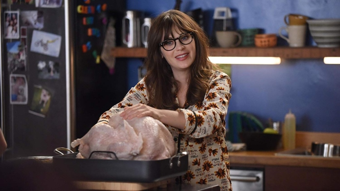 Zooey Deschanel in the 'New Girl'