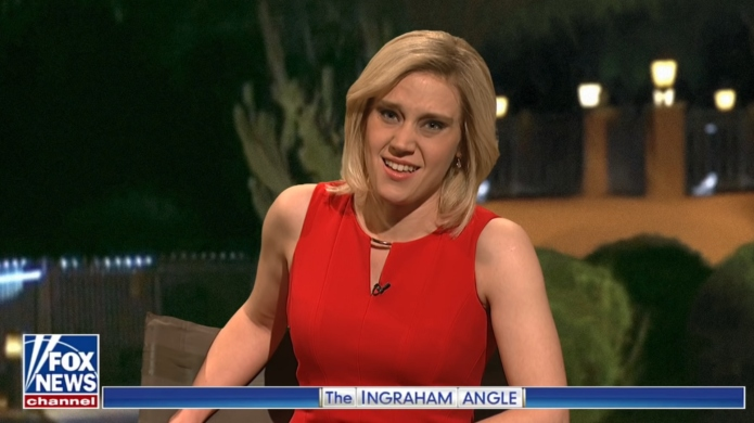 Kate McKinnon impersonates Fox News' Laura