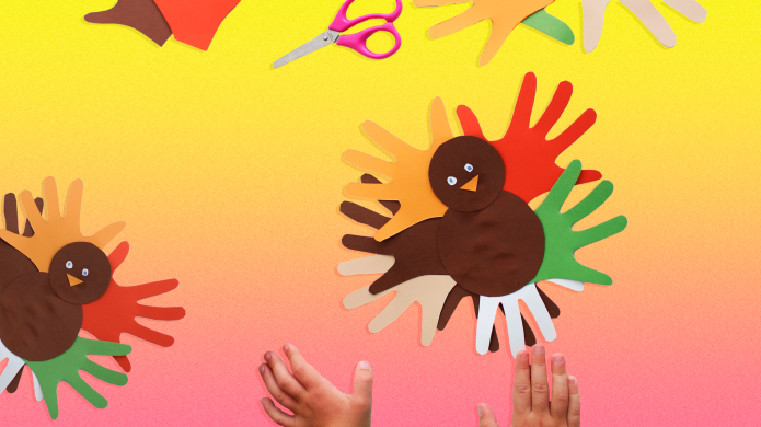 13 Thanksgiving Turkey Crafts for Kids