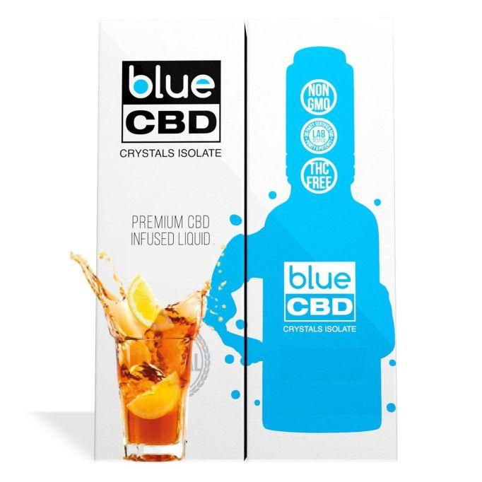 Iced tea flavor blue CBD crystal isolate