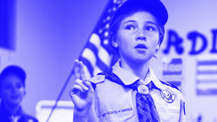 Mackenzie Harris joins Boy Scouts of