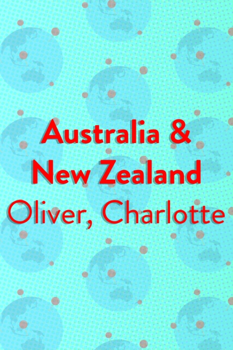 The Top Baby Names in (Almost) Every Country of the World: Australia and New Zealand