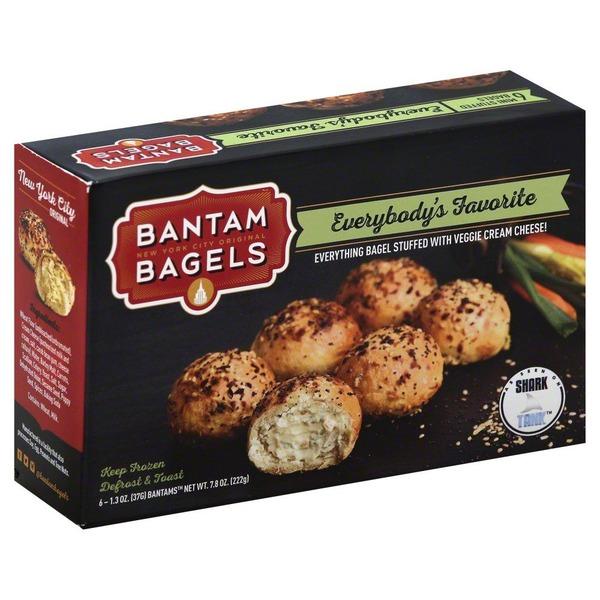 Bantam Bagels Stuffed Everything Bagels