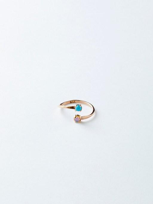 Best Friend Birthstone Ring