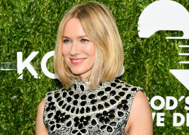 Naomi Watts attends The 12th Annual Golden Heart Awards at Spring Studios