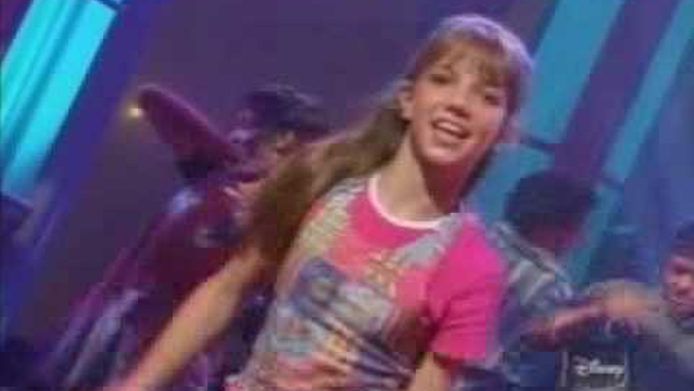 YouTube still of Britney Spears on the Mickey Mouse Club
