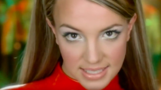 Britney Spears in music video for 'Oops! ...I Did It Again'