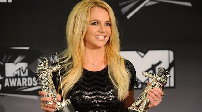 Britney Spears VMAs 2011