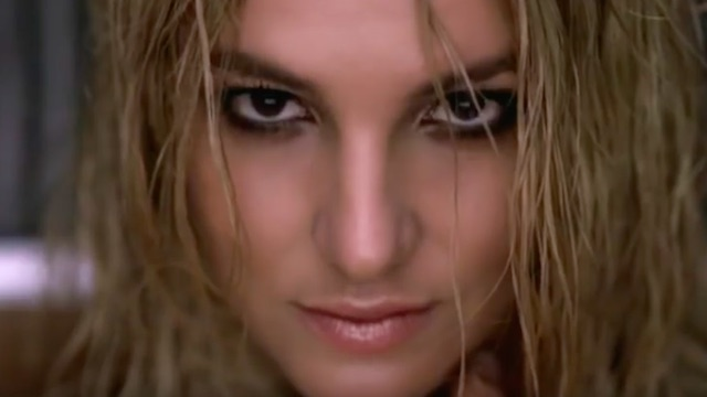 Britney Spears in 'Womanizer' music video