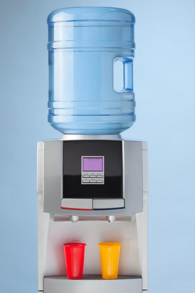 Water cooler.
