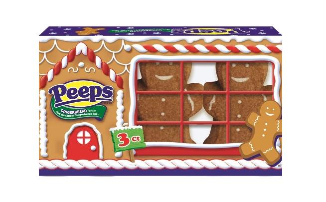 Peeps Christmas Gingerbread Men