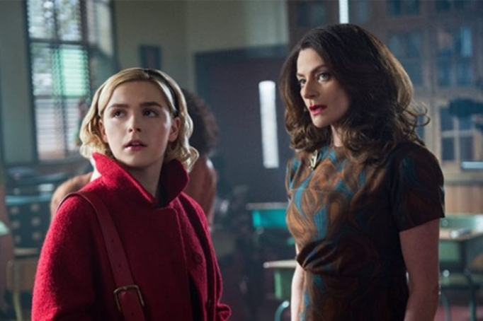A scene from 'The Chilling Adventures of Sabrina: A Midwinter's Tale.'