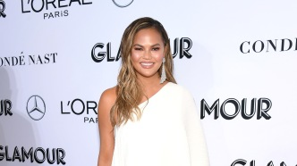 Chrissy Teigen attends Glamour Women of