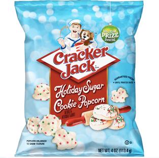 Cracker Jack's Holiday Sugar Cookie Popcorn