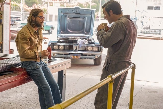 Still of Michael Angarano and Milo Ventimiglia in 'This Is Us'