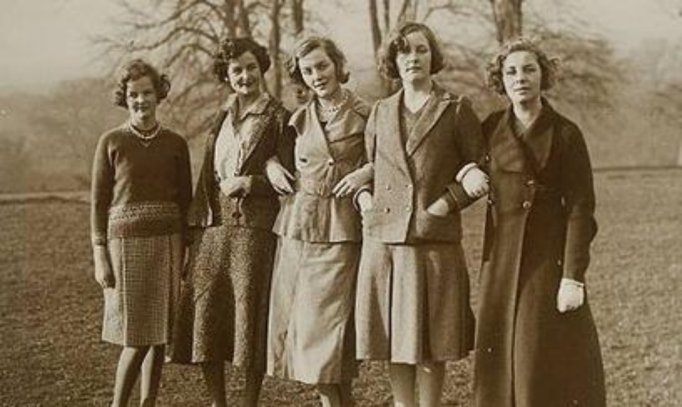 The Mitford Sisters in a portrait