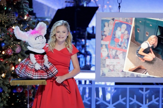 Darci Lynne hosts her own holiday special on NBC