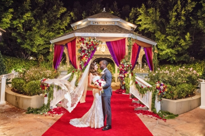 A couple gets married on 'Disney Fairy Tale Weddings: Holiday Magic'