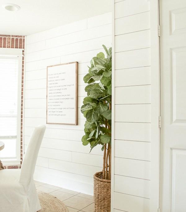10 Easy Ways To Transform A Big, Blank Wall On A Budget