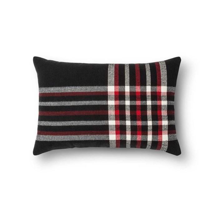 photo of Threshold Plaid Lumbar Pillow
