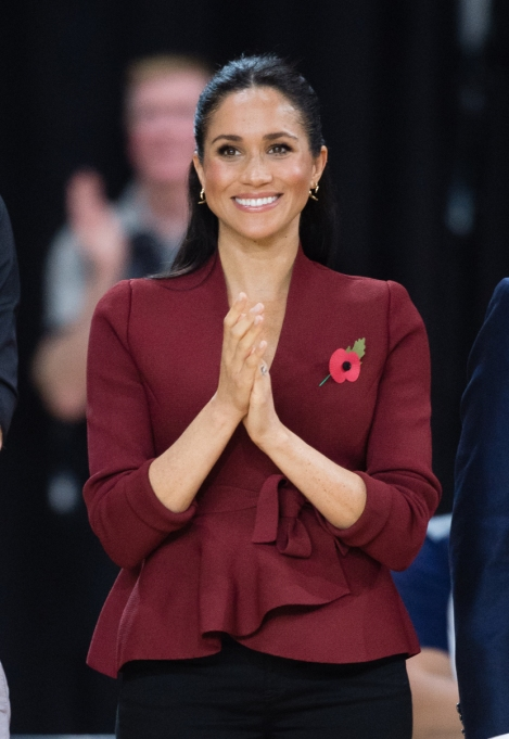 Meghan Markle Beauty Evolution: October 2018
