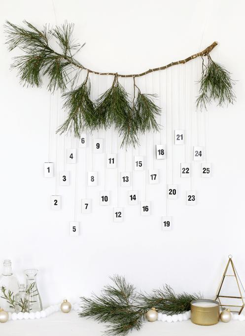 DIY Matchbox Advent Calendar