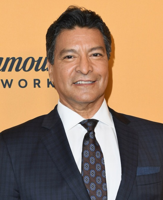 Gil Birmingham attends the premiere of Paramount Pictures' 'Yellowstone'