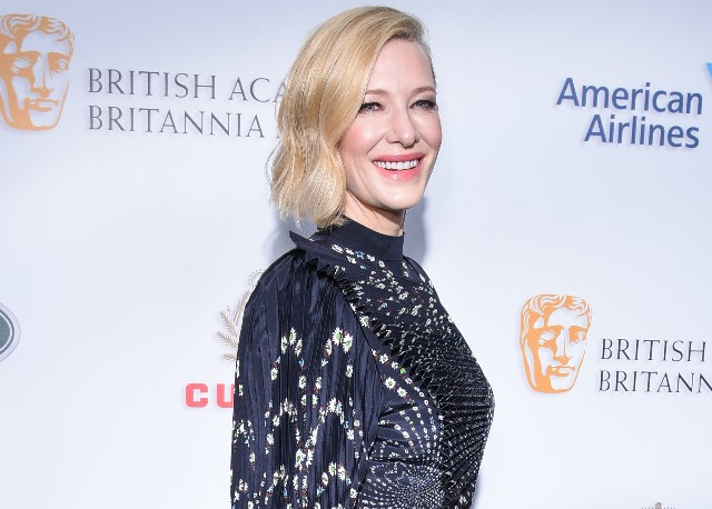 Cate Blanchett attends the 2018 British Academy Britannia Awards presented by Jaguar Land Rover and American Airlines at The Beverly Hilton Hotel