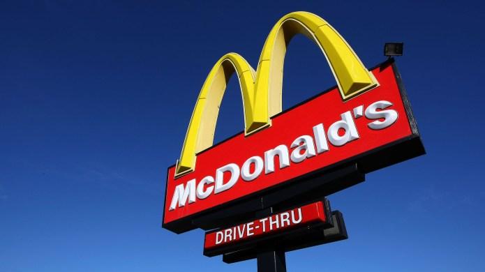 photo of mcdonalds sign