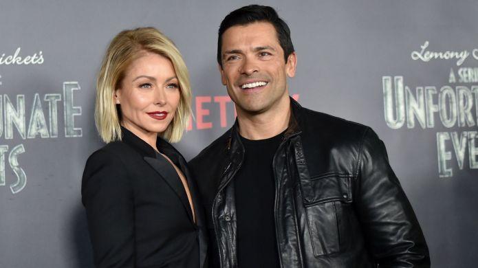 Photo of Kelly Ripa and Mark