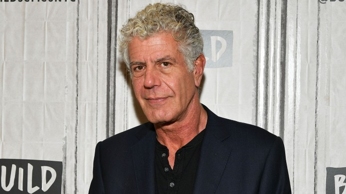 Anthony Bourdain visits Build to discuss