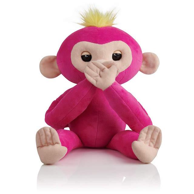 Fingerlings HUGS Interactive Plush Baby Monkey Pet