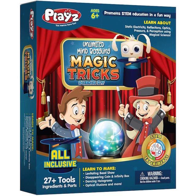 Playz Unlimited Mind Boggling Magic Tricks Science Kit